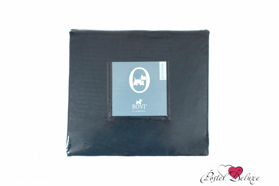 Купить Простыни BOVI, Простыня на резинке Selby Цвет: Индиго (180х200), Португалия, Синий, Хлопковый сатин