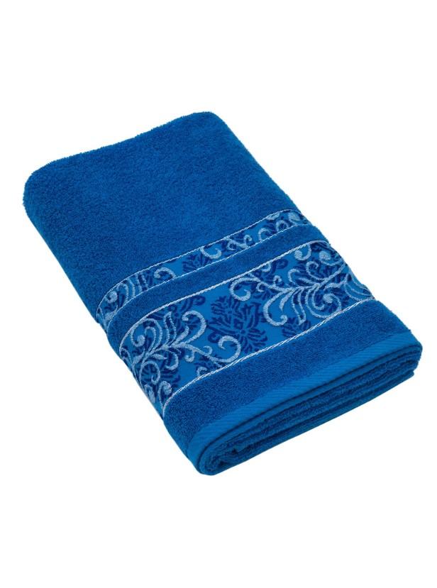 Полотенце Sarmasik цвет: темно-синий (70х140 см)