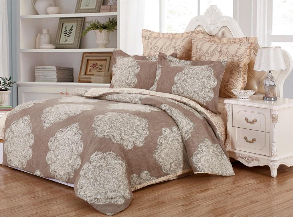 где купить Комплекты постельного белья Valtery Постельное белье Deirdre (2 спал.) по лучшей цене