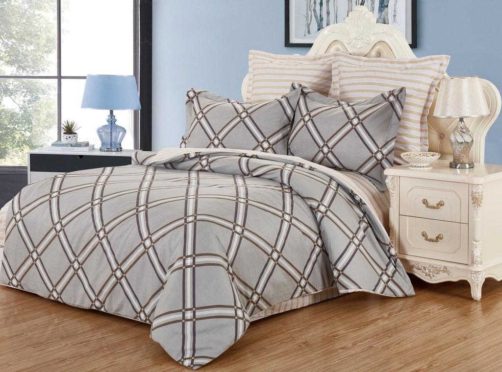 Комплекты постельного белья Valtery Постельное белье Alishia (семейное)