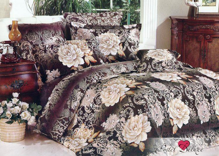 Купить Комплекты постельного белья Tango, Постельное белье Mordechai(1, 5 спал.), Китай, Кремовый, Сиреневый, Фиолетовый, Хлопковый сатин