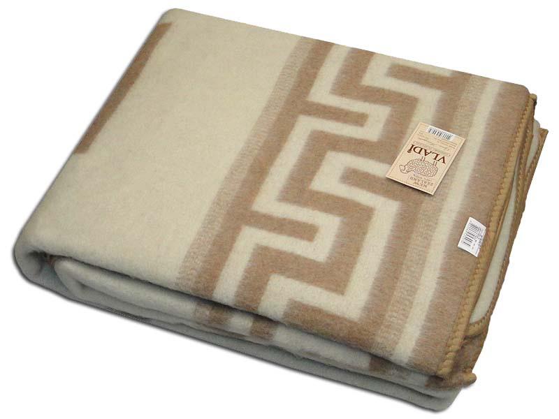 Одеяло Греция Цвет: Белый, Бежевый (200х220 см)