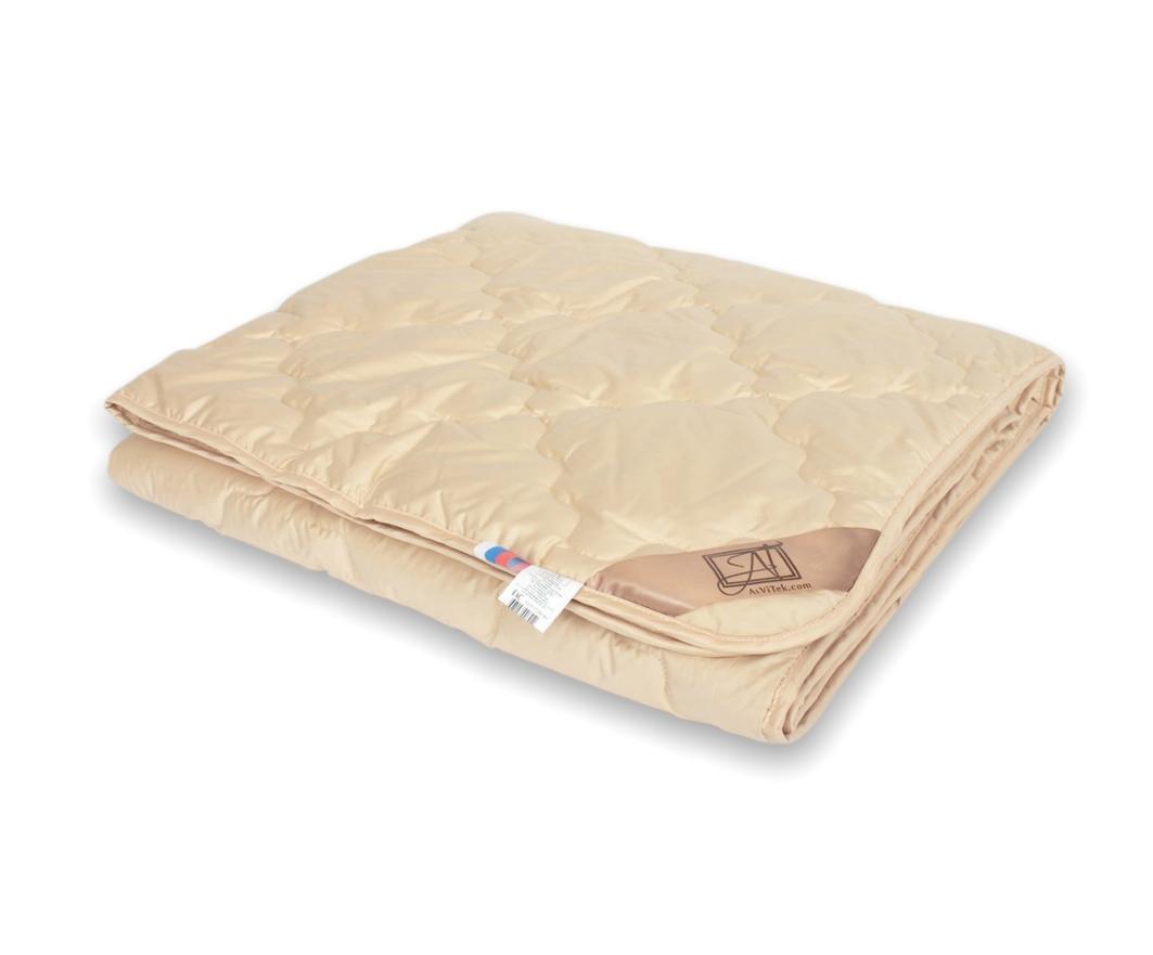Одеяла AlViTek, Одеяло ГобиВсесезонное (200х220 см), Россия, Кремовый, Хлопковый сатин  - Купить