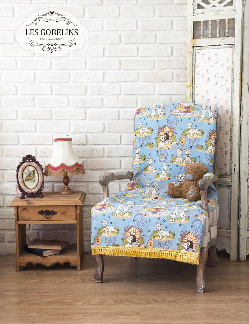 Покрывала, подушки, одеяла для малышей Les Gobelins Детская Накидка на кресло Dalmatiens (90х200 см) покрывало les gobelins накидка на кресло mexique 90х200 см