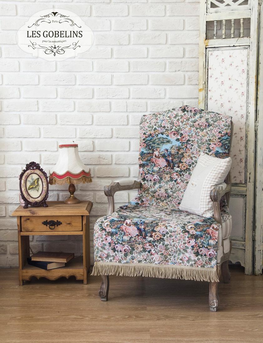 где купить Пледы и покрывала Les Gobelins Накидка на кресло Poesie (70х150 см) по лучшей цене