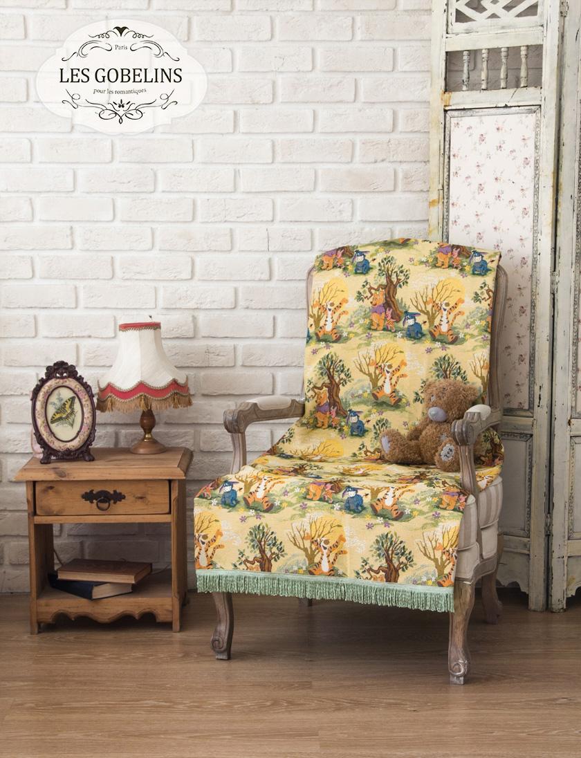 где купить Покрывала, подушки, одеяла для малышей Les Gobelins Детская Накидка на кресло Winnie L'Ourson (90х160 см) по лучшей цене