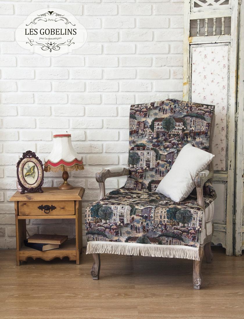 Пледы и покрывала Les Gobelins Накидка на кресло Arbat (70х150 см) покрывало les gobelins накидка на кресло bouquet francais 80х160 см