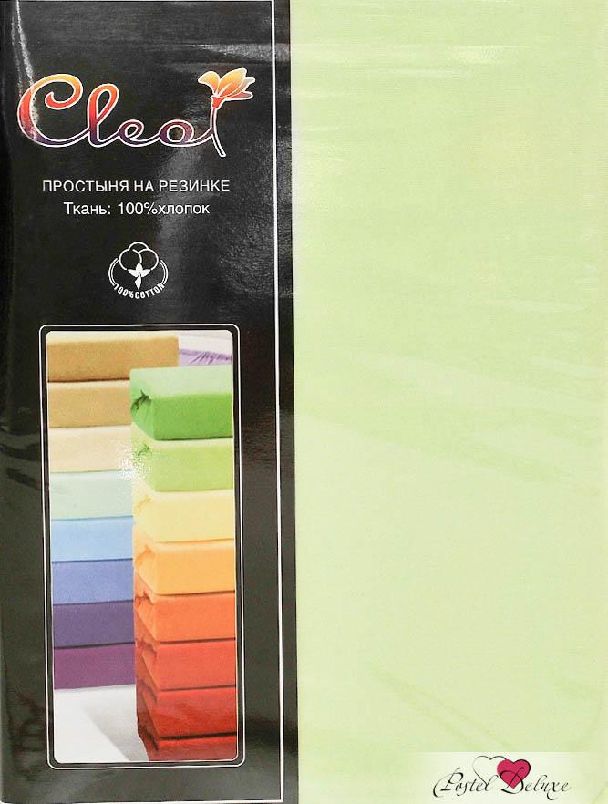 Купить Простыни Cleo, Простыня на резинкеInnesЦвет: Салатовый (200х200 см), Китай, Зеленый, Хлопковый трикотаж