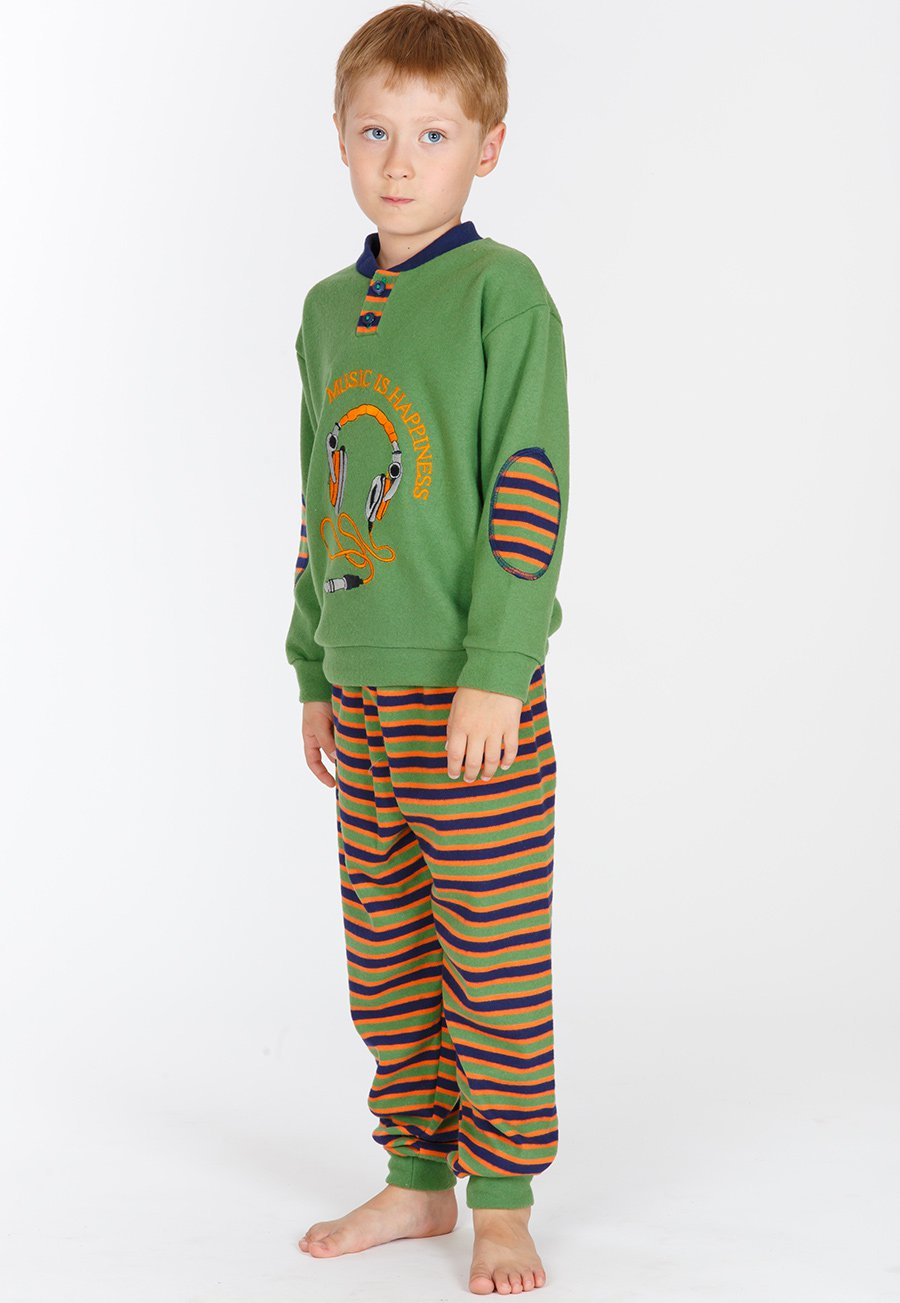 Детская пижама Wynn Цвет: Зеленый (10 лет) фото
