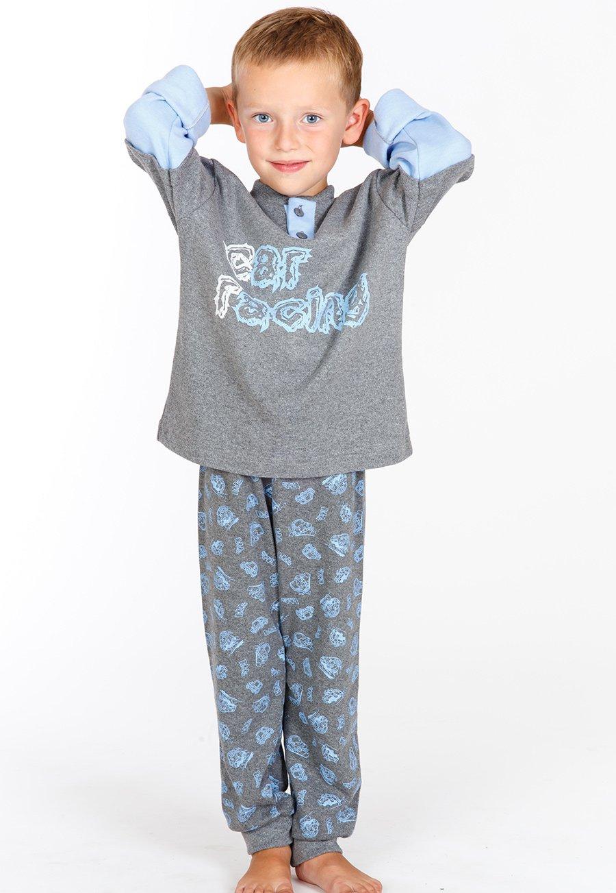 Детская пижама Maya Цвет: Серый (7 лет) фото