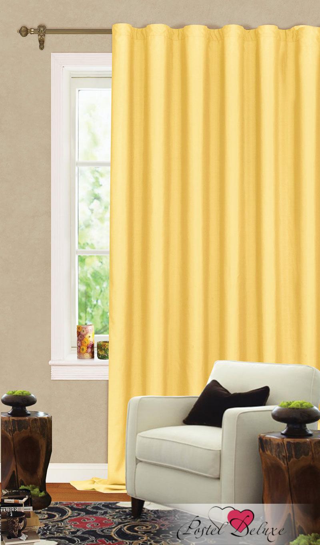 Купить Шторы Garden, Классические шторы Aletha Цвет: Желтый, Турция, Портьерная ткань