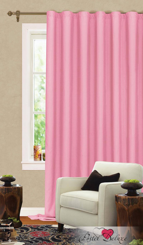 Купить Шторы Garden, Классические шторы Albina Цвет: Розовый, Турция, Портьерная ткань