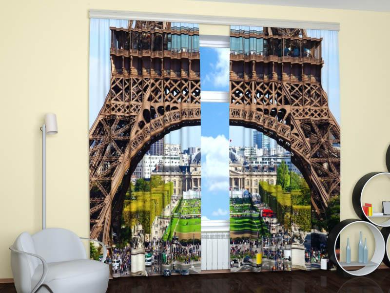Шторы StickButik Фотошторы Гордость Парижа