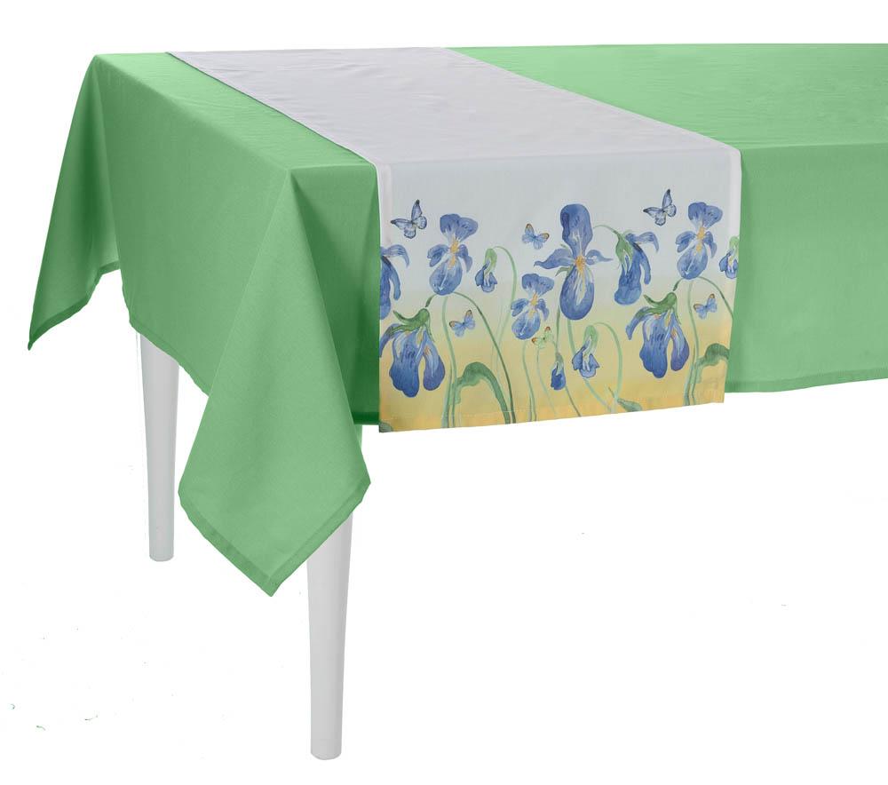 Купить Скатерти и салфетки Apolena, Дорожка на стол Iris (40х140 см), Россия-Турция, Поликоттон