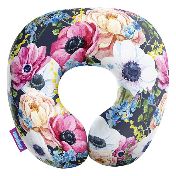 Декоративная подушка Оттенки Весны Цвет: Синий (34х34) фото