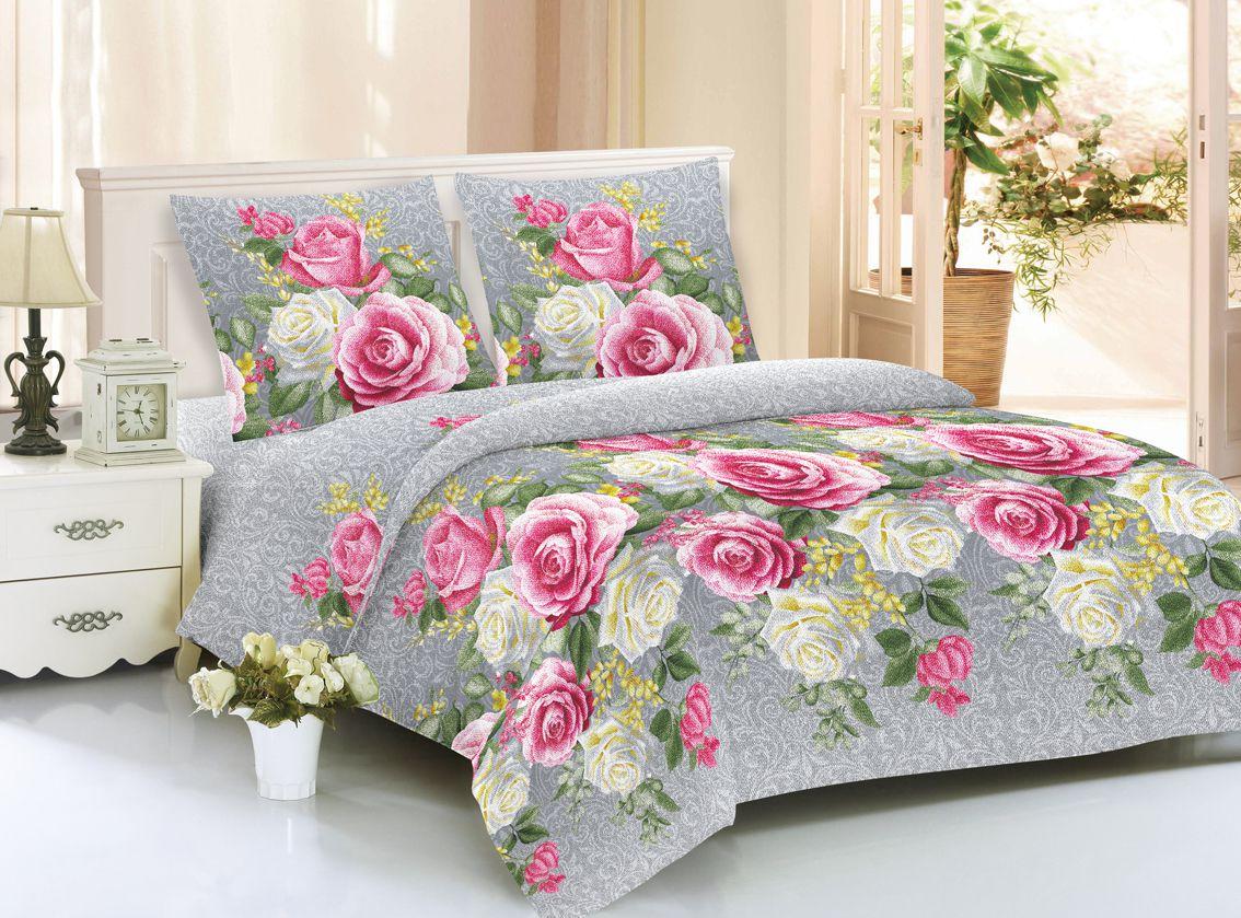 Купить Комплекты постельного белья Amore Mio, Постельное белье Biddy (1, 5 спал.), Китай, Сиреневый, Синтетический сатин