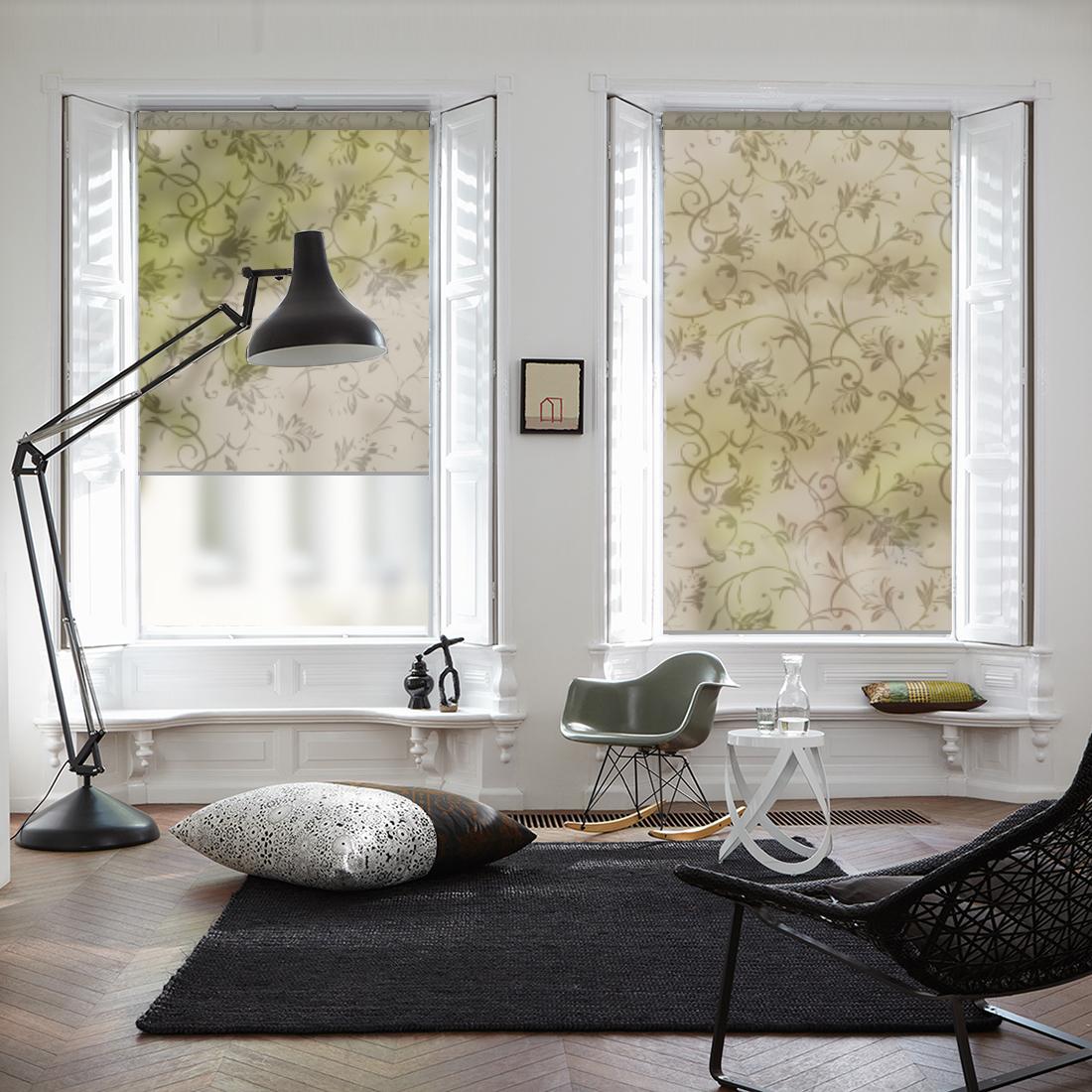 Купить Римские и рулонные шторы Dome, Миниролло Dome Design Цвет:Boheme Choco, Дания, Портьерная ткань