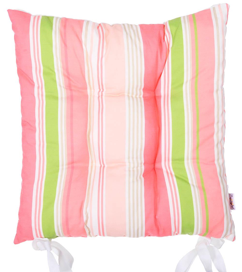 Купить Декоративные подушки Apolena, Подушка на стул Flamingo Line (40х40), Россия-Турция, Поликоттон