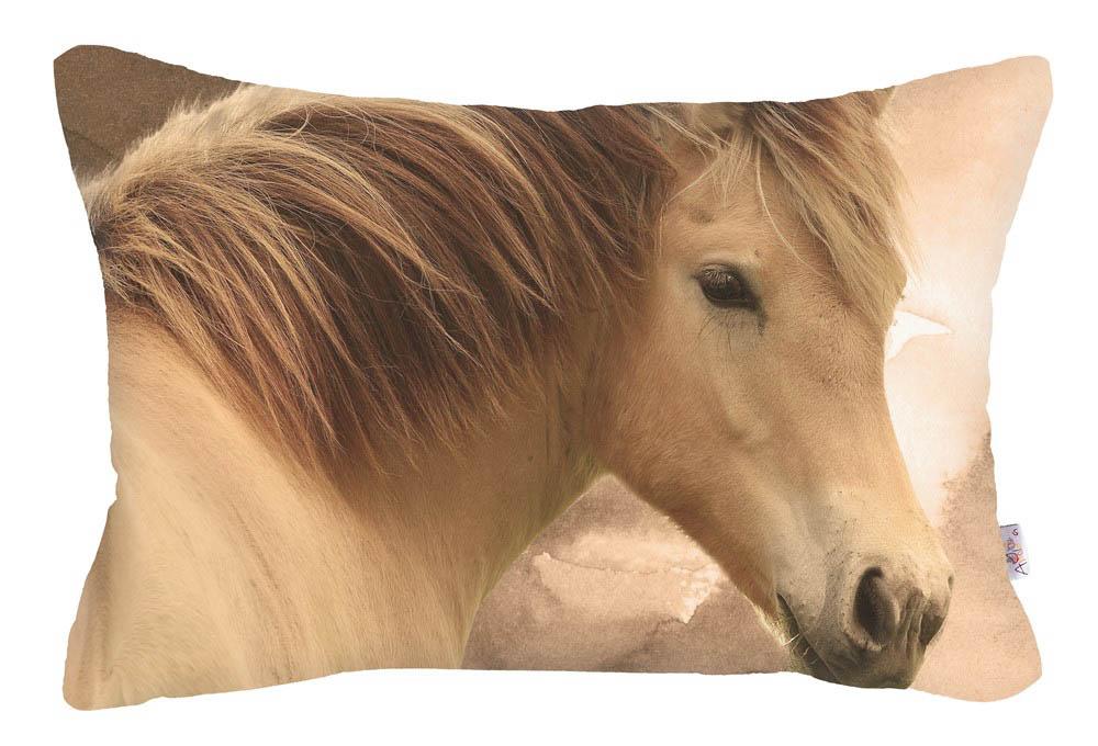Купить Декоративные подушки Apolena, Декоративная наволочка Horse (30х50), Россия-Турция, Микрофибра