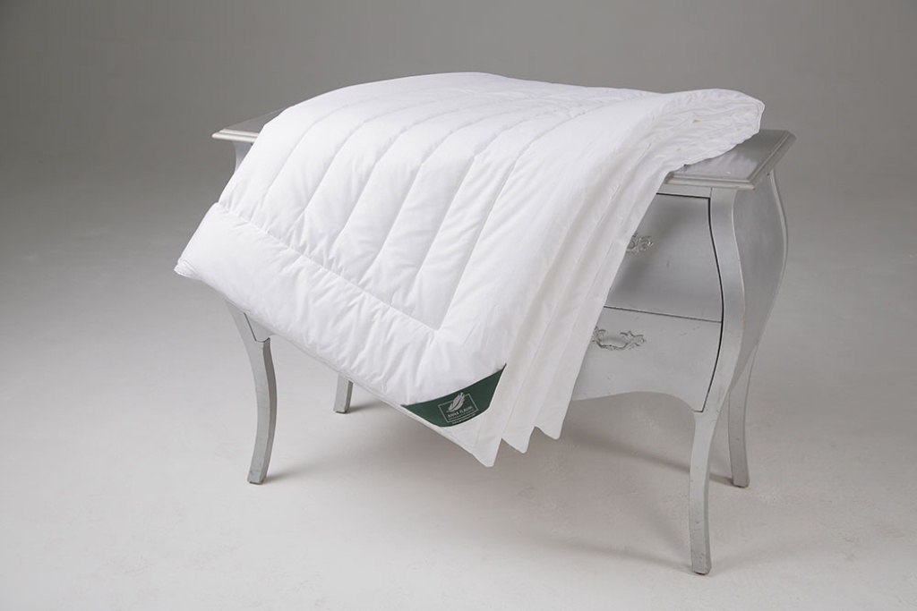 Купить Одеяла ANNA FLAUM, Одеяло Fitness Всесезонное (200х220 см), Германия, Белый, Хлопковый сатин