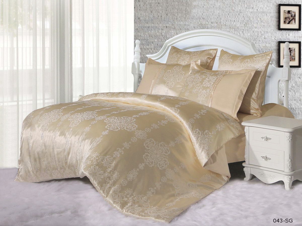 Купить Комплекты постельного белья Cleo, Постельное белье Fedora (2 сп. евро), Китай, Хлопковый сатин