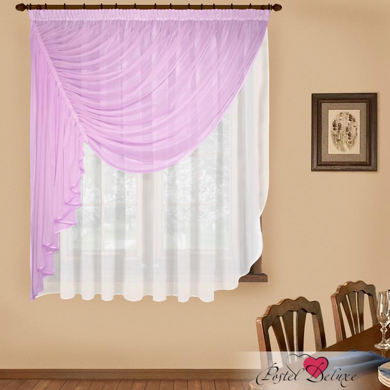 Купить Шторы Elegante, Императорские шторы Фантазия Цвет: Сиреневый, Китай, Вуаль