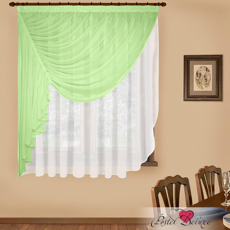Купить Шторы Elegante, Императорские шторы Фантазия Цвет: Зеленый, Китай, Вуаль
