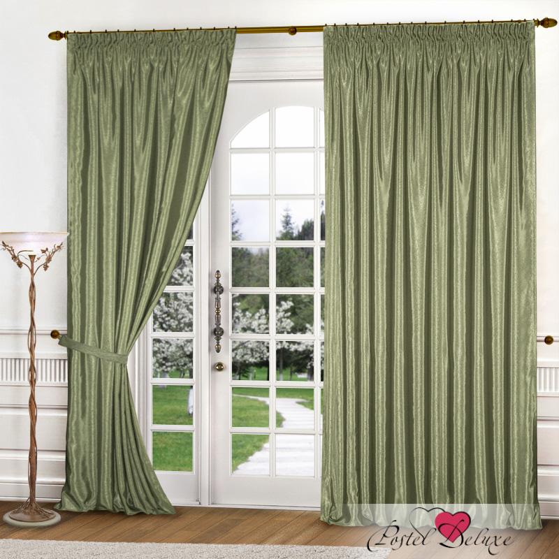Купить Шторы Elegante, Классические шторы Шелковый Блеск Цвет: Оливковый, Китай, Зеленый, Атлас