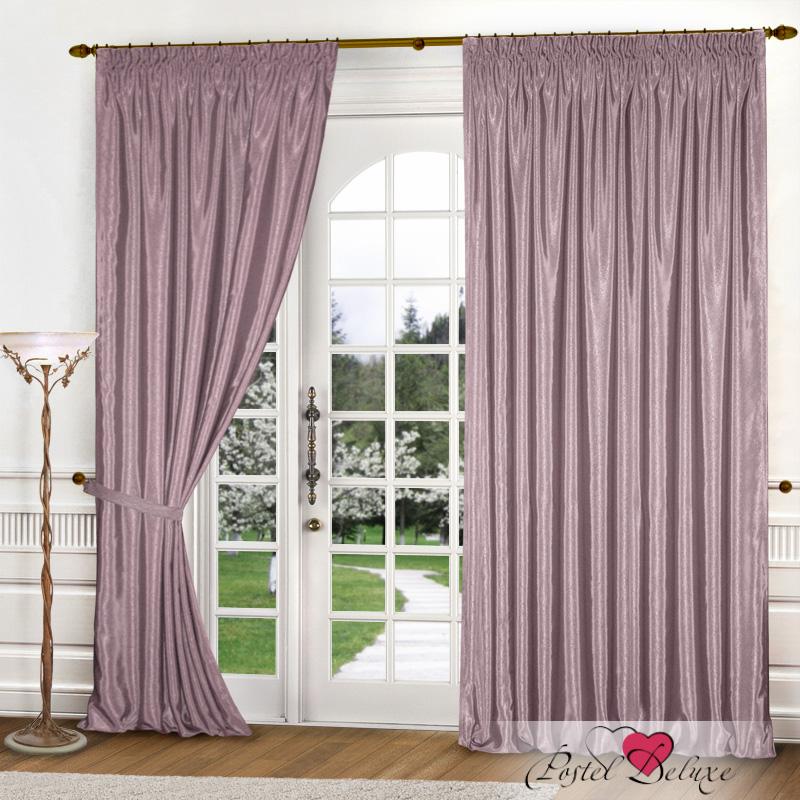 Купить Шторы Elegante, Классические шторы Шелковый Блеск Цвет: Сиреневый, Китай, Атлас