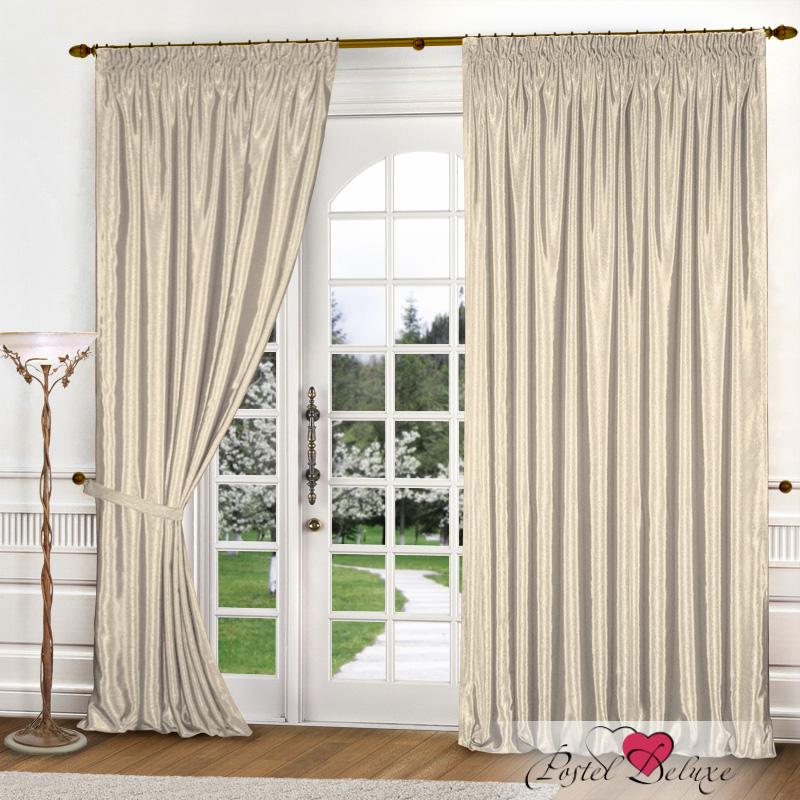 Купить Шторы Elegante, Классические шторы Шелковый Блеск Цвет: Молочный, Китай, Бежевый, Атлас