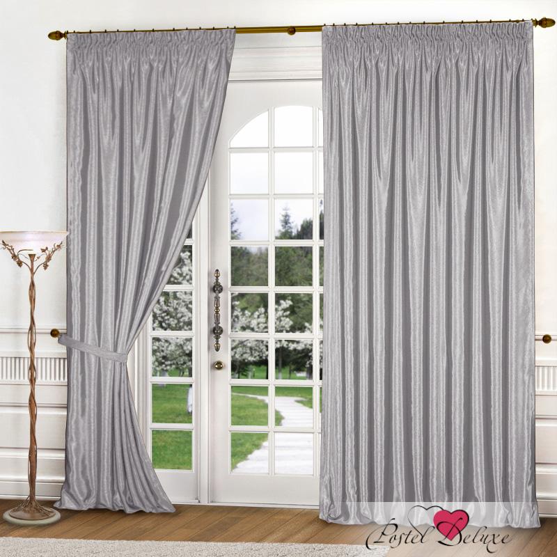 Купить Шторы Elegante, Классические шторы Шелковый Блеск Цвет: Светло-Серый, Китай, Атлас