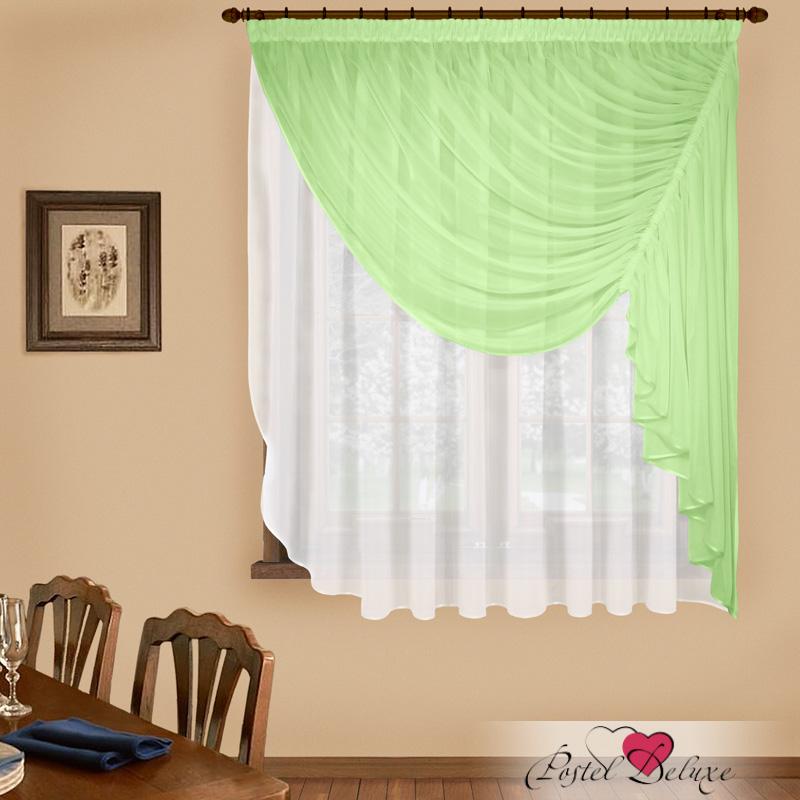 Купить Шторы Elegante, Императорские шторы Фантазия Цвет: Зеленый, Китай, Белый, Зеленый, Вуаль