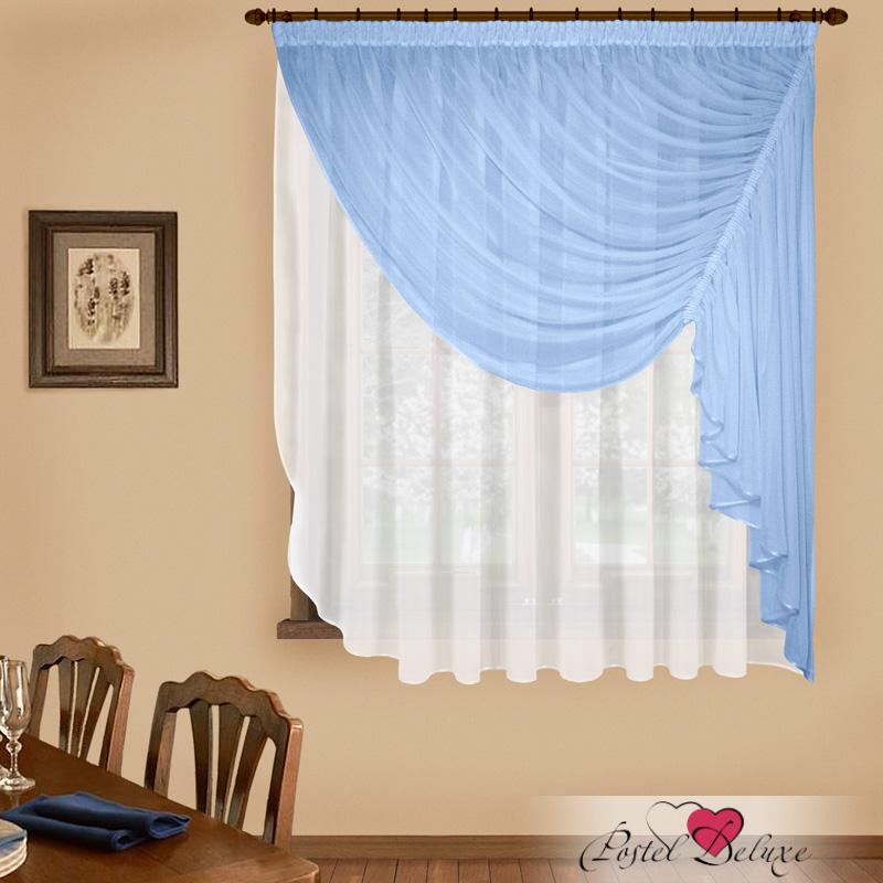 Купить Шторы Elegante, Императорские шторы Фантазия Цвет: Голубой, Китай, Вуаль