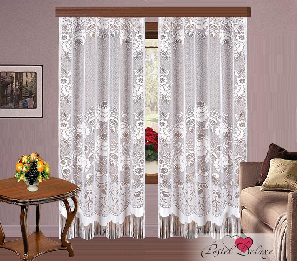 Купить Шторы Elegante, Классические шторы Nia Цвет: Белый, Китай, Тюль