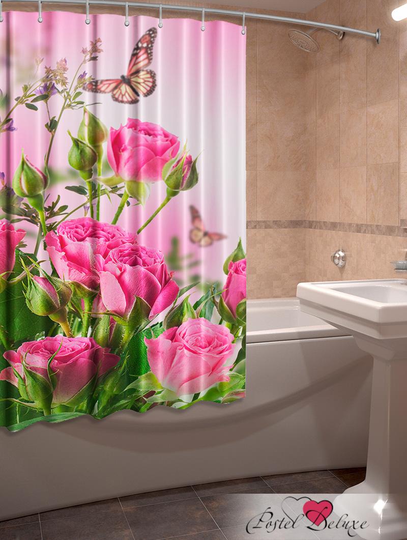 Купить Шторы и карнизы Elegante, Фотошторы для ванной Лето, Китай, Розовый, Оксфорд
