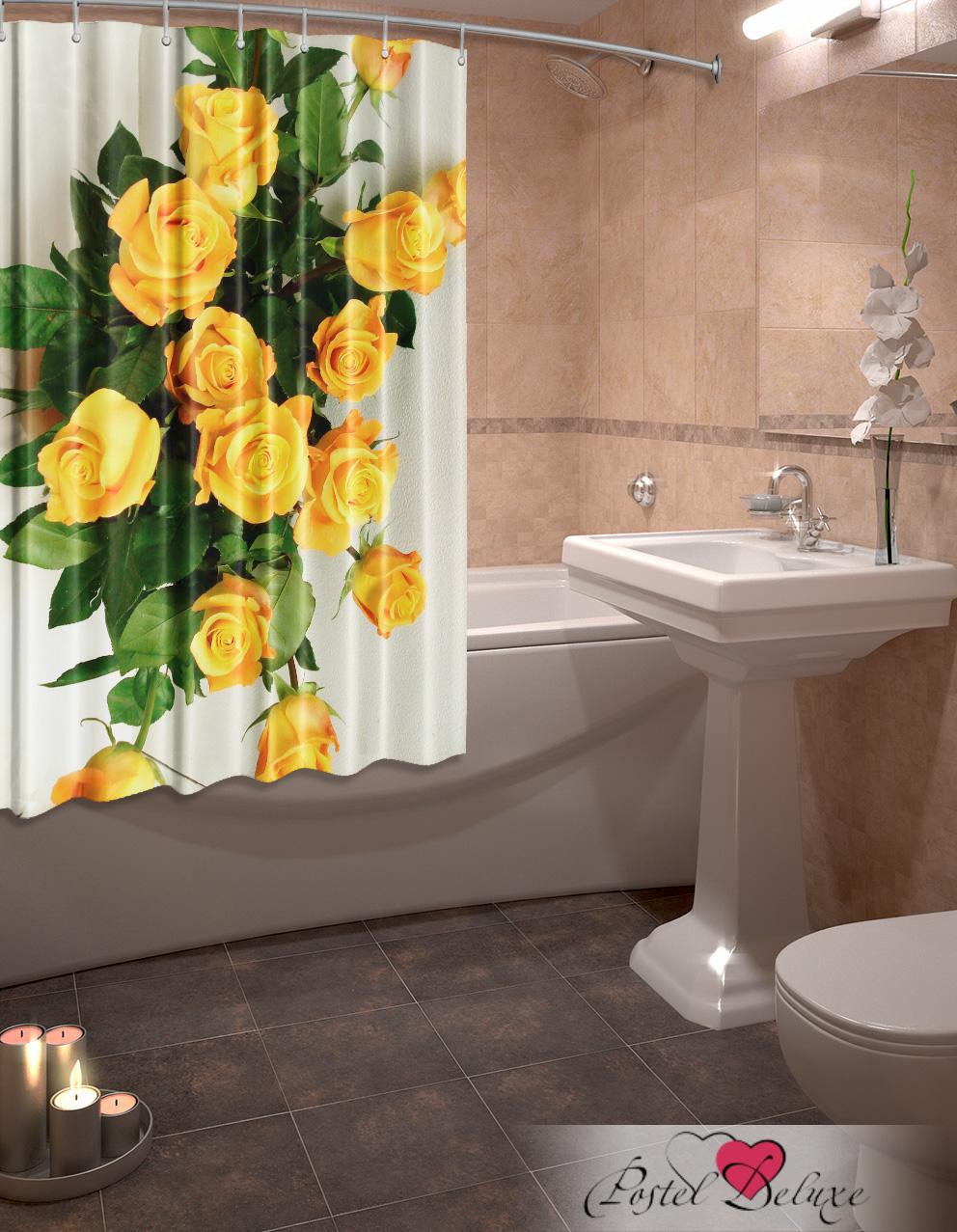 Купить Шторы и карнизы Elegante, Фотошторы для ванной Признание, Китай, Желтый, Оксфорд