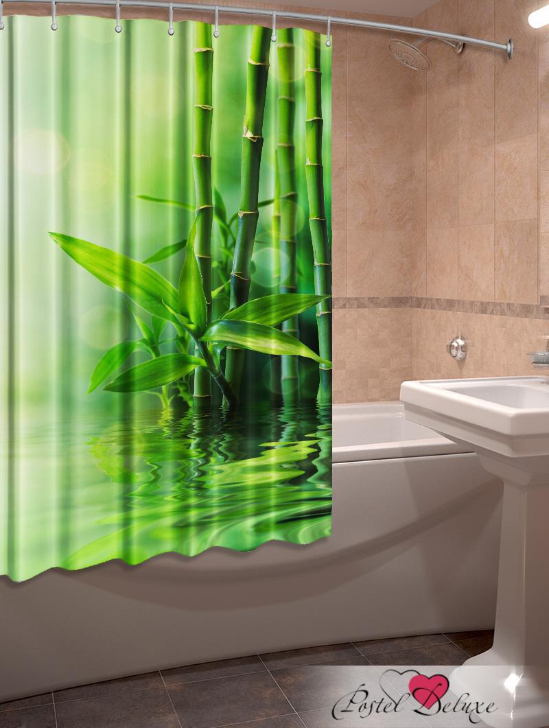 Купить Шторы и карнизы Elegante, Фотошторы для ванной Тростник, Китай, Зеленый, Оксфорд