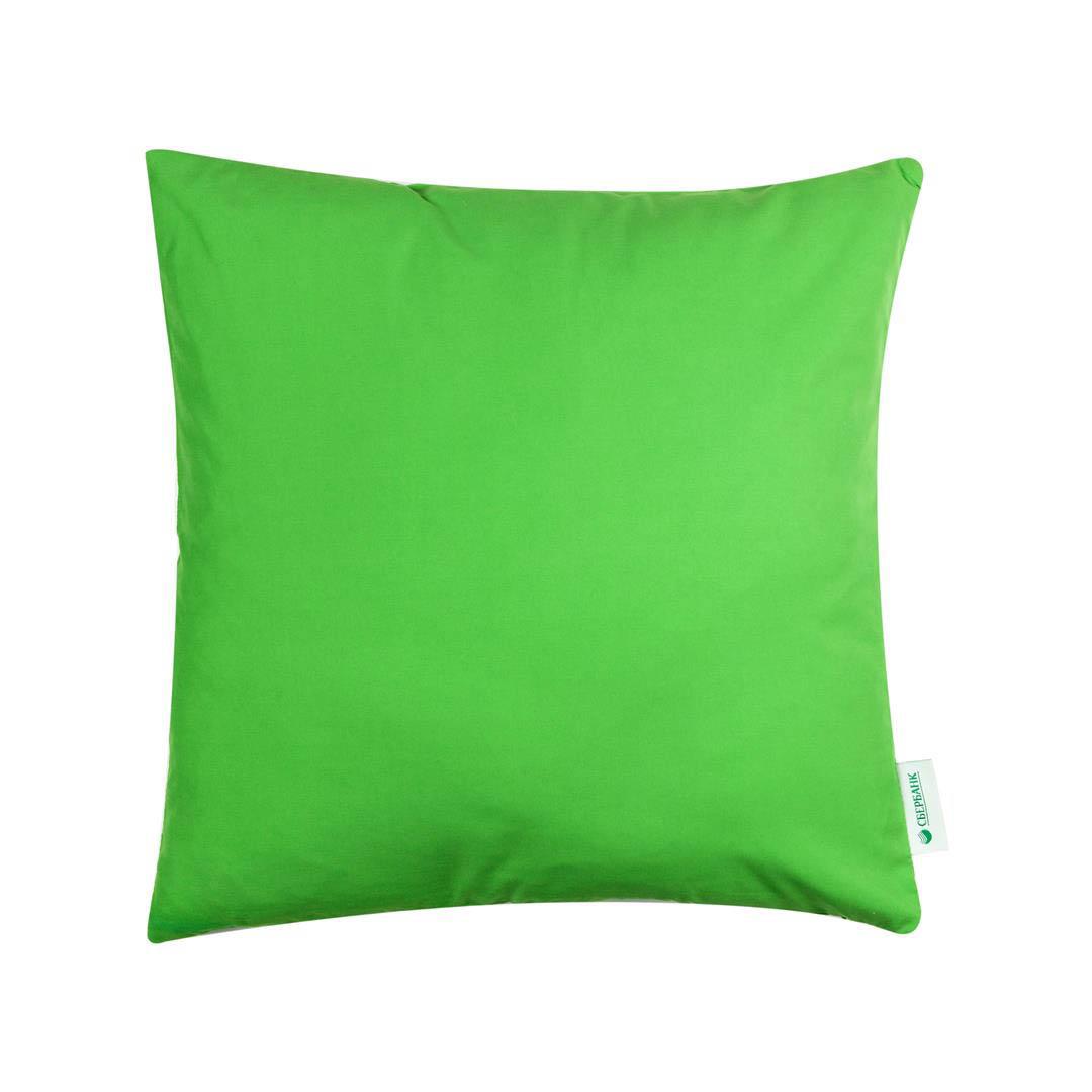 Купить Декоративные подушки Apolena, Декоративная наволочка Лесной Уголок (45х45 см), Россия-Турция, Зеленый, Микрофибра