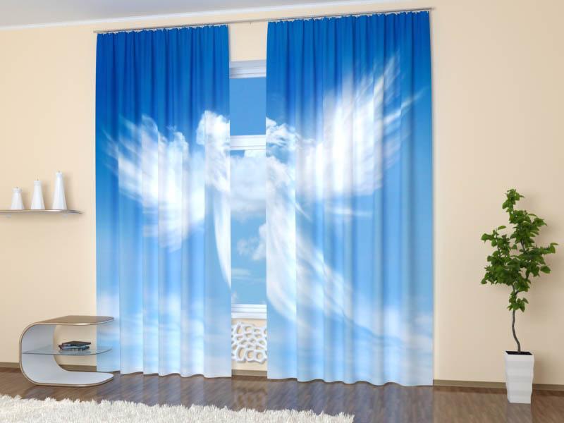 Шторы StickButik Фотошторы Небесный Ангелок
