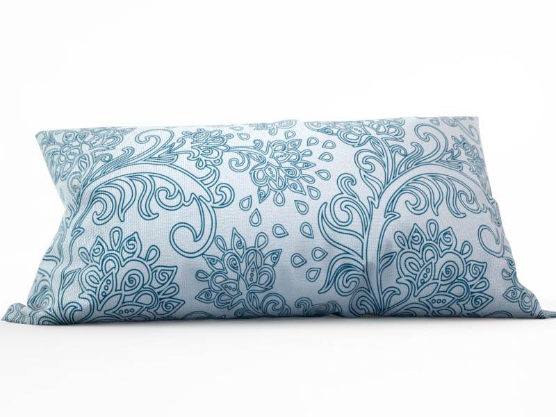 Декоративные подушки StickButik Декоративная подушка Морозные Узоры (25х45) россия ёлочная игрушка снегурочка морозные узоры