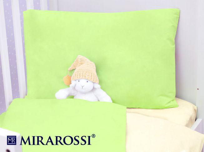 Купить Детское постельное белье MIRAROSSI, Детское Постельное белье Lime (115х147 см), Россия, Желтый, Зеленый, Хлопковый трикотаж