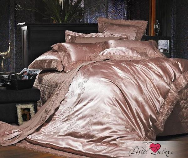 Купить Комплекты постельного белья Famille, Постельное белье Costiera (2 спал.), Китай, Кремовый, Фиолетовый, Хлопковый сатин