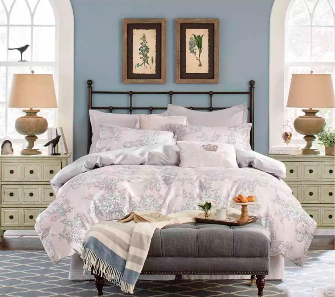 Купить Комплекты постельного белья Tango, Постельное белье Maora (1, 5 спал.), Китай, Белый, Хлопковый сатин