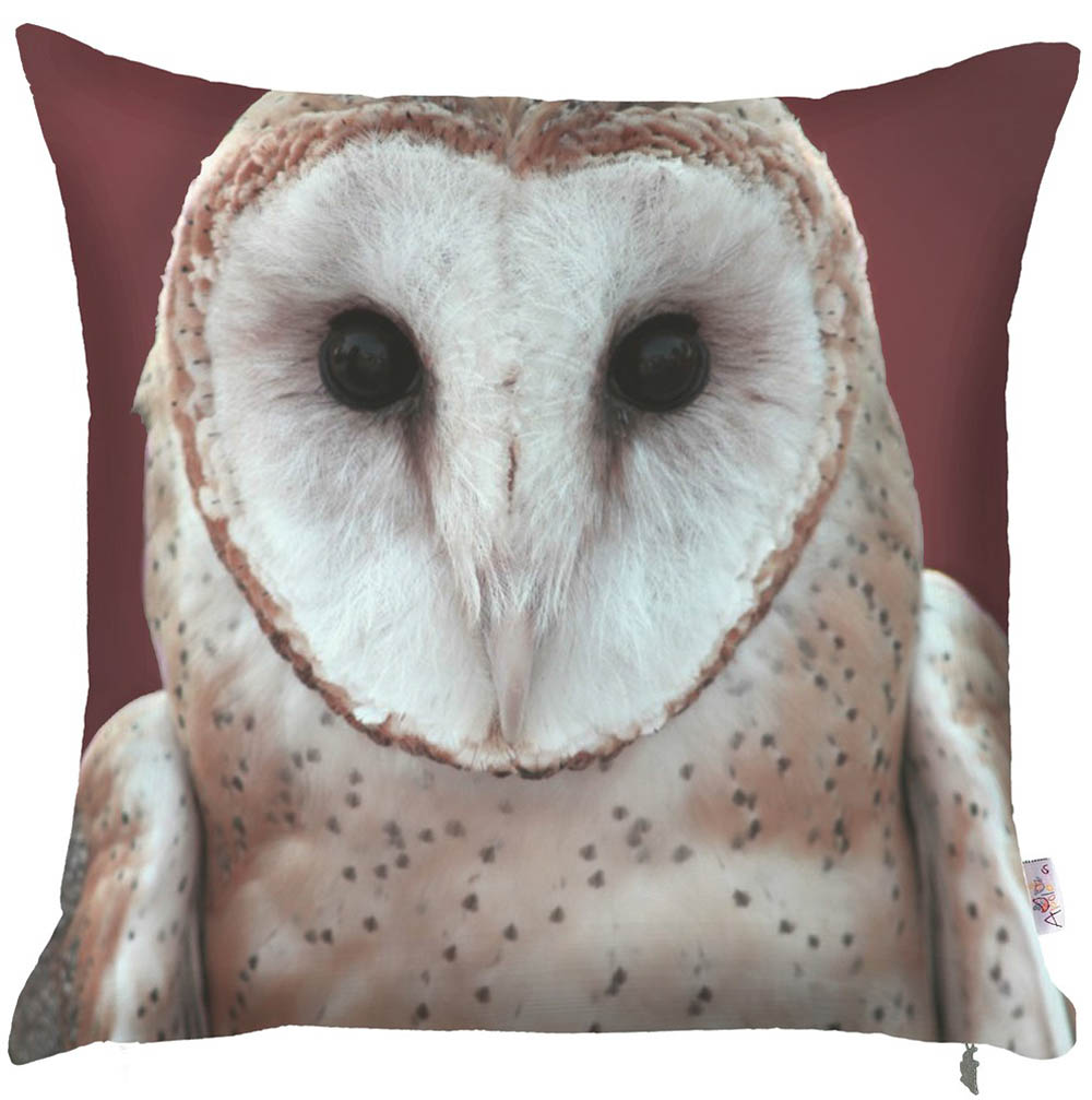 Купить Декоративные подушки Apolena, Декоративная наволочка Owl (43х43), Россия-Турция, Микрофибра