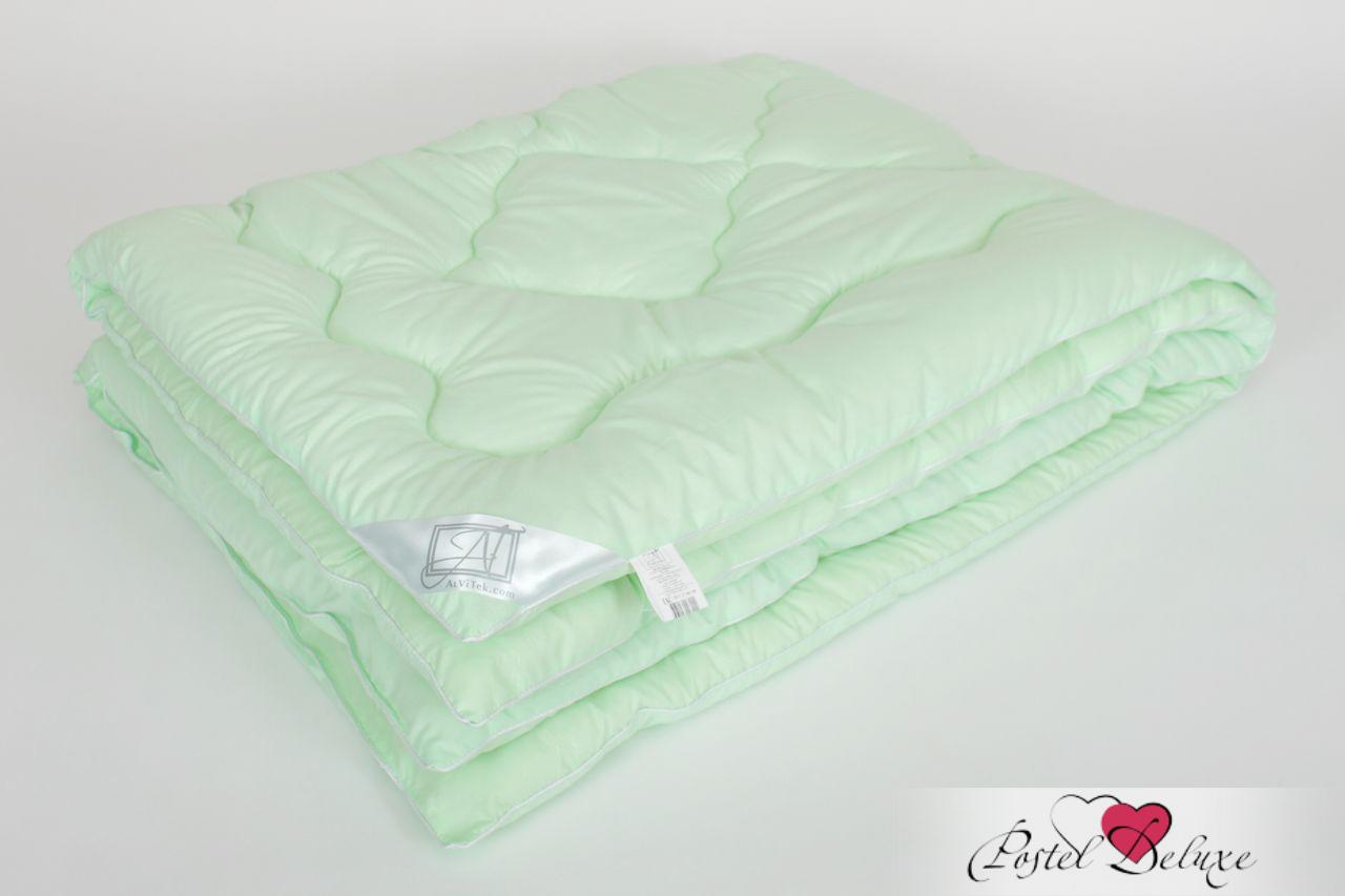 Купить Одеяла AlViTek, Одеяло Микрофибра-Бамбук (140х205 см), Россия, Зеленый