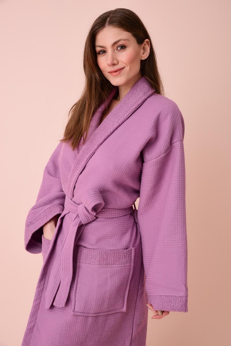 Банный халат Abnor Цвет: Светло-Лавандовый (xL) фото