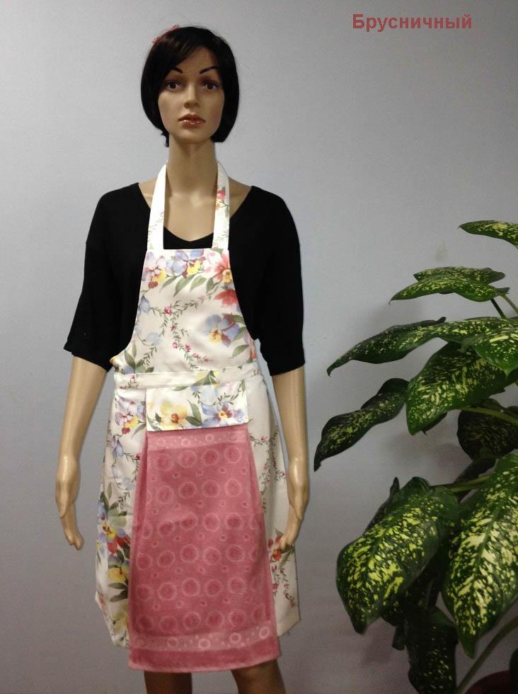 Полотенца Karna Кухонный набор Jools Цвет: Брусничный