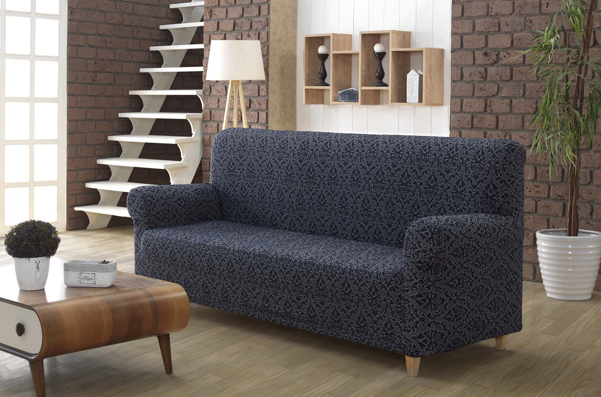 Чехол для мебели Maracaibo Цвет: Антрацитовый (Двухместный) фото