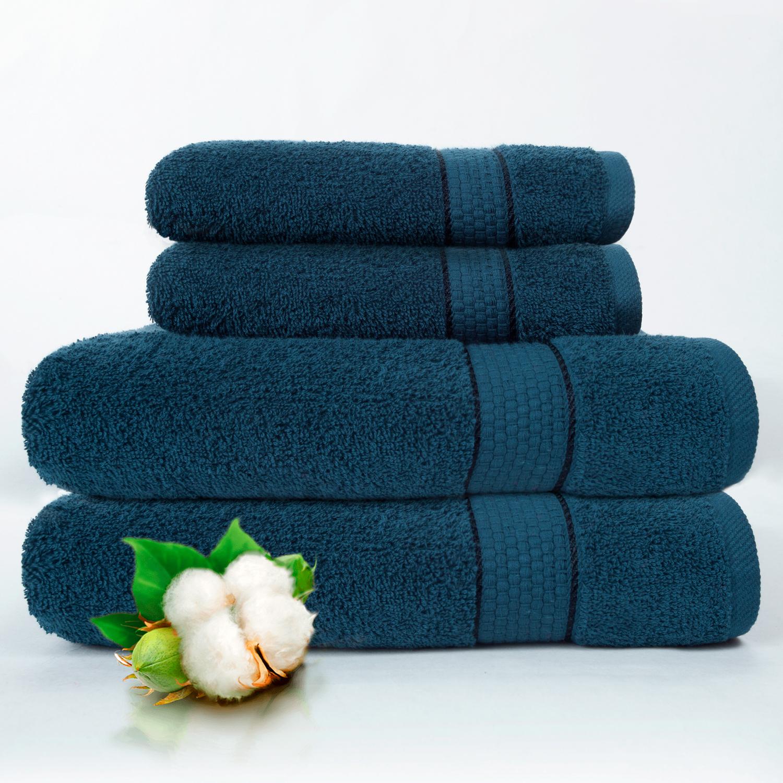 Набор из 4 полотенец Marakesh Цвет: Синий (50х90 см - 2 шт, 70х140 см - 2 шт)