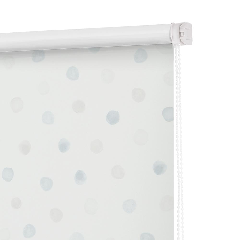 Рулонные шторы Горошек Цвет: Голубой